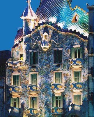 Descubriendo la Casa Batlló de Gaudí - lugares