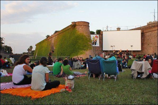 Sala Montjuic, para disfrutar del cine al aire libre - lugares, eventos-en-barcelona