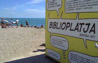 Biblioplayas en Barcelona - novedades, lugares