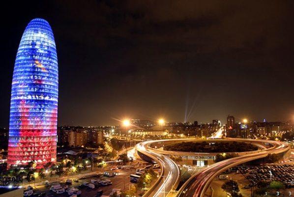 Los rascacielos de Barcelona - lugares