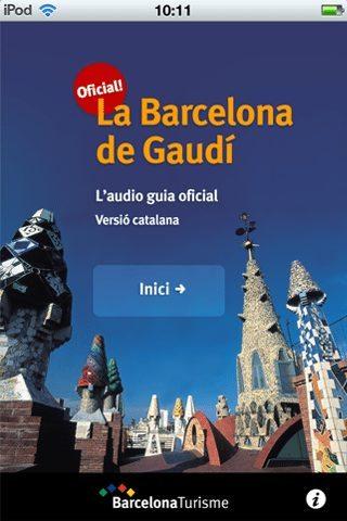 La Barcelona de Gaudí en una audioguía con forma de app - novedades