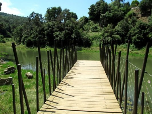 Pantano de Vallvidrera - lugares
