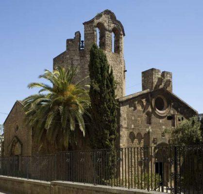La Parroquia de Sant Pau del Camp - lugares