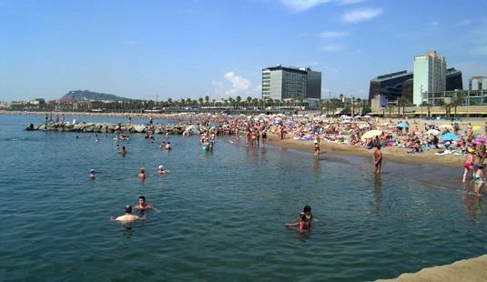 Playa del Somorrostro - lugares