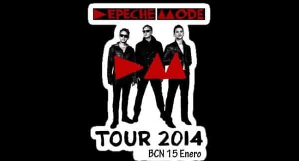Concierto de Depeche Mode en Barcelona en 2014 - eventos-en-barcelona