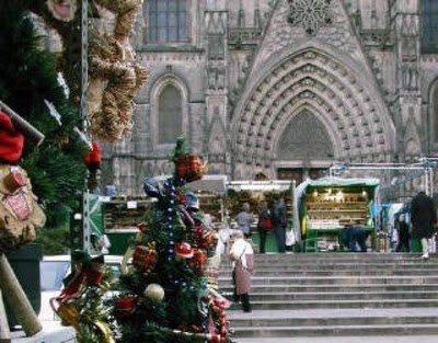 Feria de Navidad en la Sagrada Familia - lugares, eventos-en-barcelona