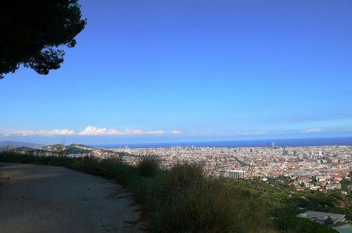 Running en Barcelona: Carretera de les Aigües - lugares