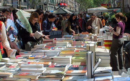 Sant Jordi: Diada, libros y rosas - eventos-en-barcelona