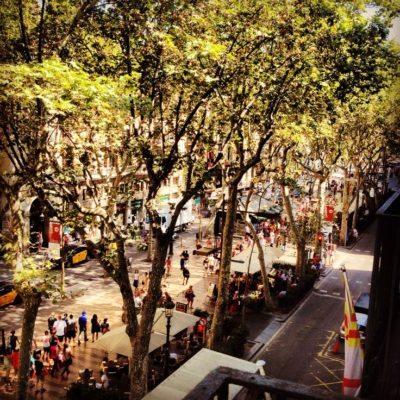 Un paseo por Las Ramblas de Barcelona [Vídeo] - lugares