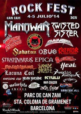 Rock Fest Barcelona 2014 - eventos-en-barcelona