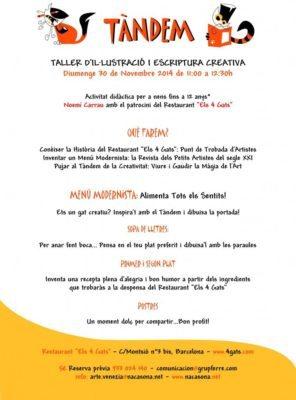 TÁNDEM: Taller de ilustración y escritura creativa para niños - eventos-en-barcelona