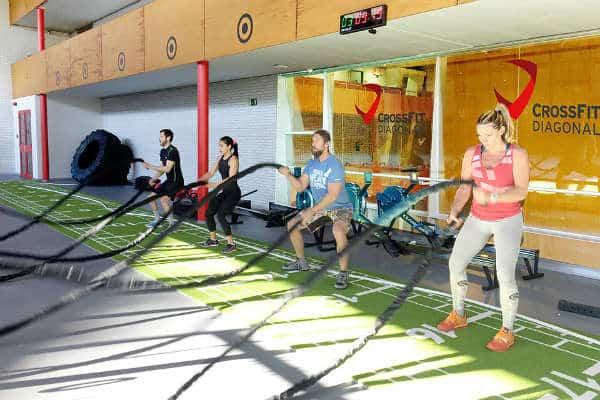 Barcelona amplia su oferta deportiva con el espacio CrossFit Diagonal - lugares