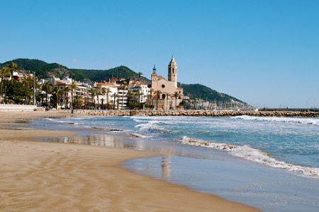 Guía de playas de  Sitges (I) - lugares