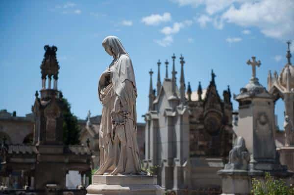 Un paseo por los cementerios - lugares