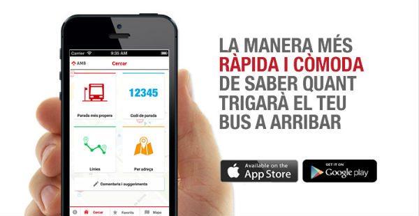 ambtempsbus : la app oficial para saber cuánto tardará tu bus en llegar - novedades, eventos-en-barcelona