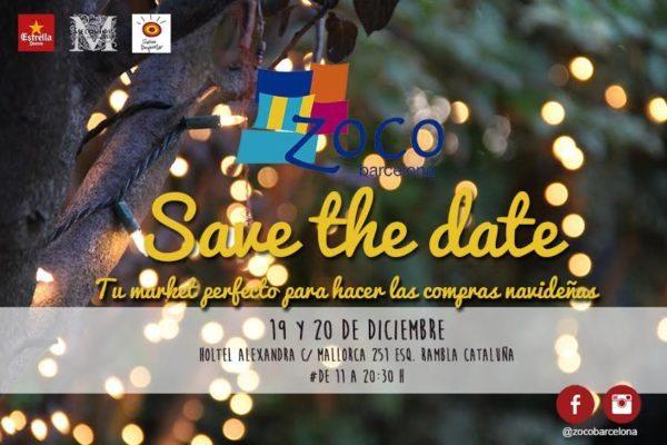 El market de moda y complementos handmade ZOCO Barcelona vuelve al Hotel Alexandra por Navidad - eventos-en-barcelona