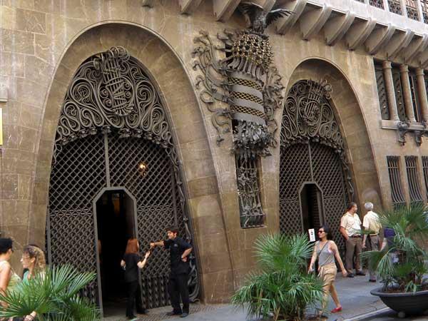 Visitar GRATIS el Palau Güell - lugares