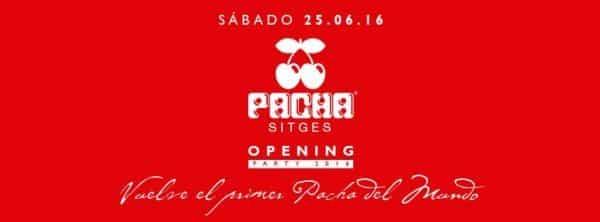 Pacha Sitges abre de nuevo sus puertas - novedades