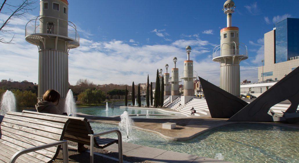 Parque de la España Industrial de Barcelona - lugares