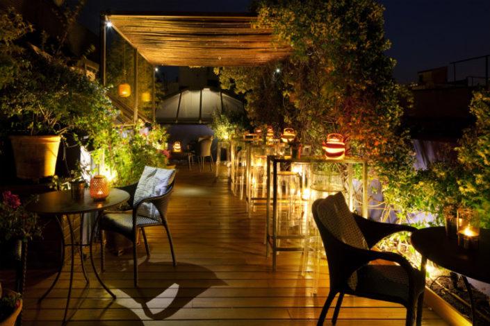 terraza hotel neri barcelona