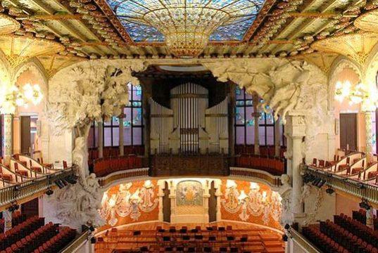 maravillas de barcelona palau de la música