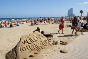 Datos curiosos de los turistas que visitan Barcelona - novedades