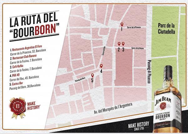 """Descubrir la ruta del """"BourBorn"""" en Barcelona, ¿te atreves? - novedades, lugares, eventos-en-barcelona"""
