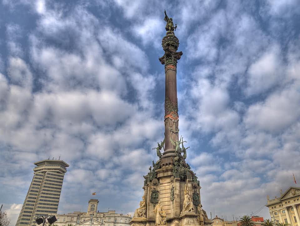 Una visita al Mirador de Colón en Barcelona - lugares