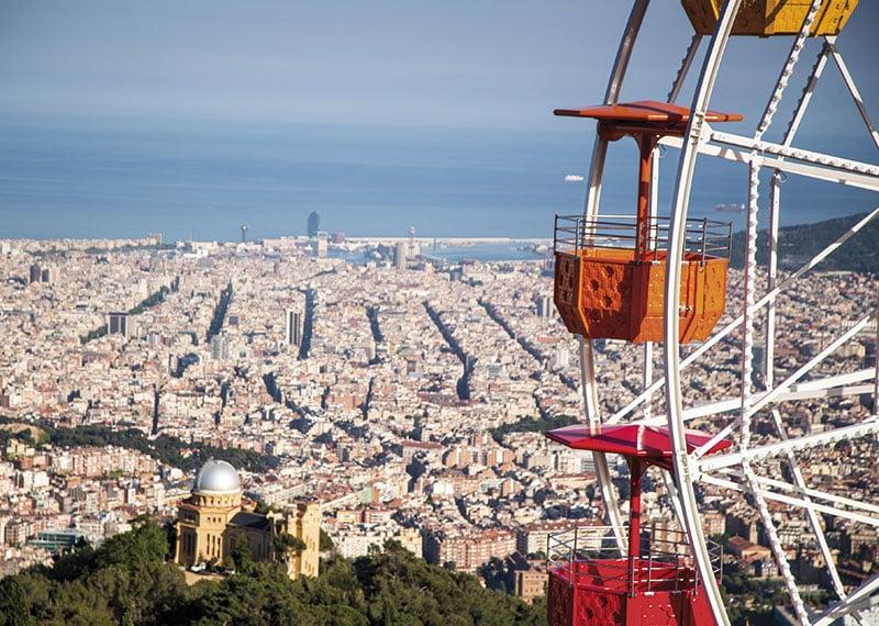 Barcelona también tiene parques de atracciones - novedades