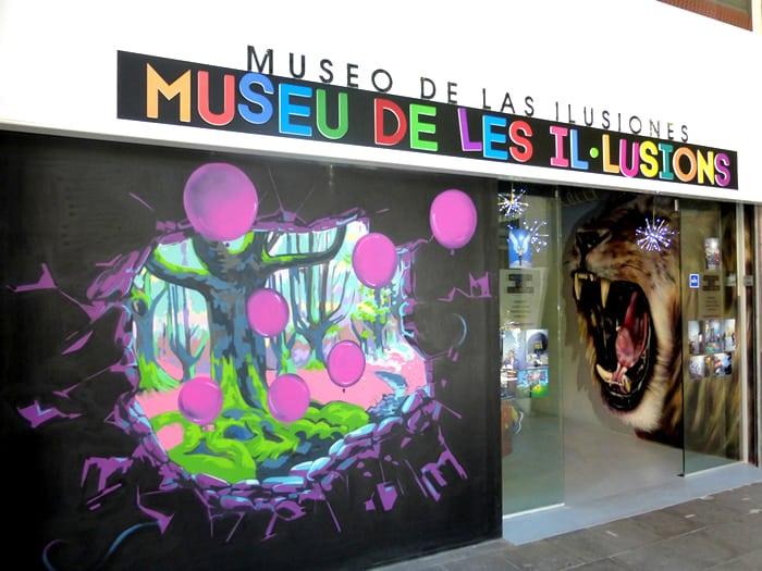 Galería de las ilusiones en Barcelona - lugares