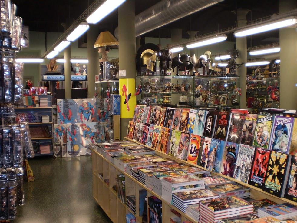 Las mejores tiendas de cómics de Barcelona - lugares
