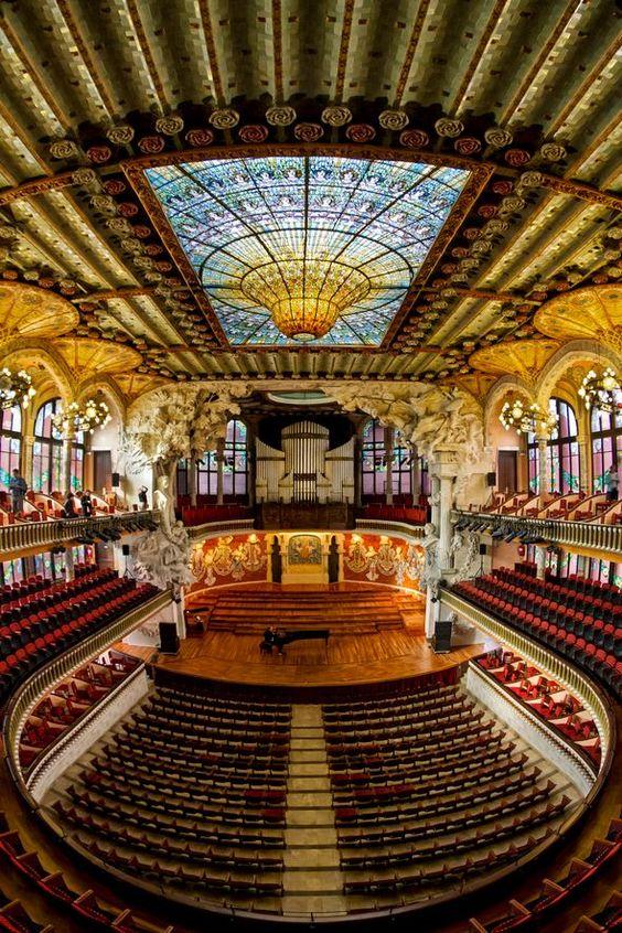 Así es el Palau de la Música Catalana - lugares