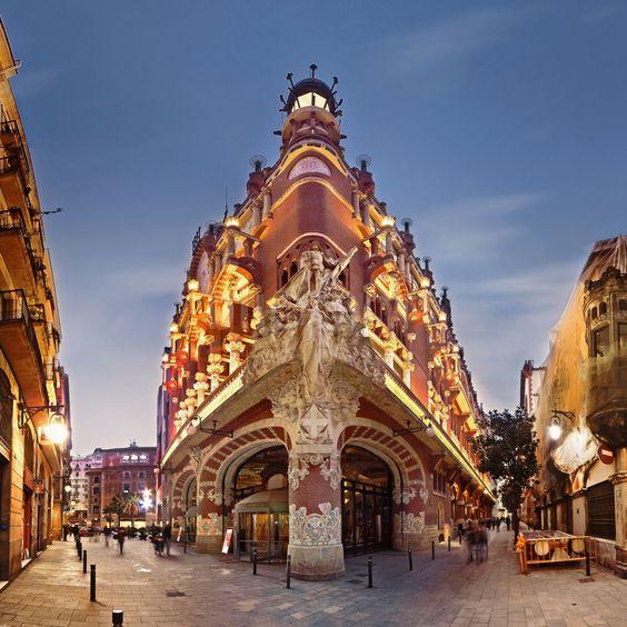 As es el palau de la m sica catalana gu a de ocio de barcelona - Casas de musica en barcelona ...