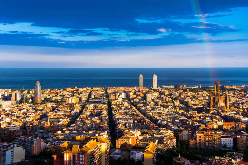 Los mejores miradores de Barcelona - lugares