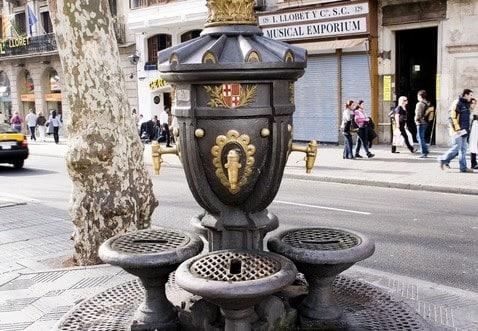 Leyendas de Barcelona: el fantasma de Canaletas - lugares