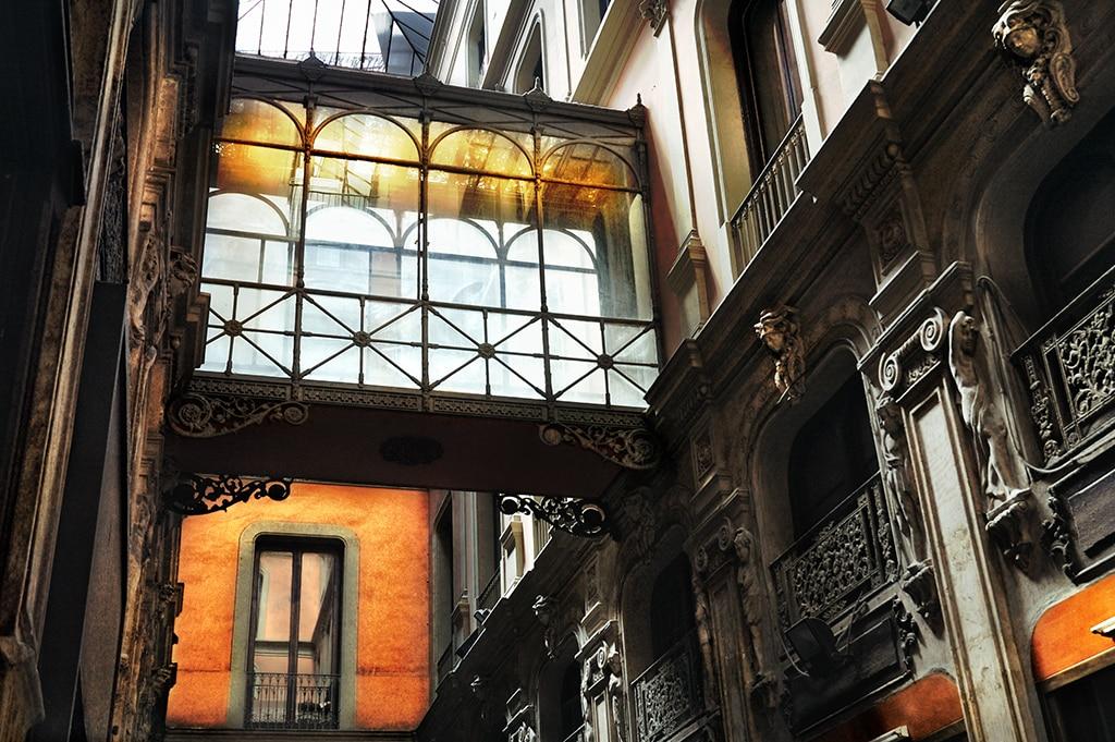 Passatge Bacardí, el pasaje de las boutiques de lujo en Barcelona - lugares