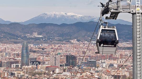 Un paseo por las alturas: Teleférico de Montjüic - lugares