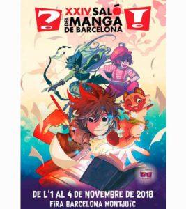 Salón del Manga de Barcelona 2018 - novedades