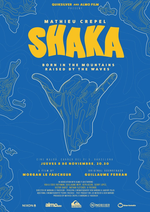 SHAKA una película de Mathieu Crepel estrena en Barcelona - eventos-en-barcelona