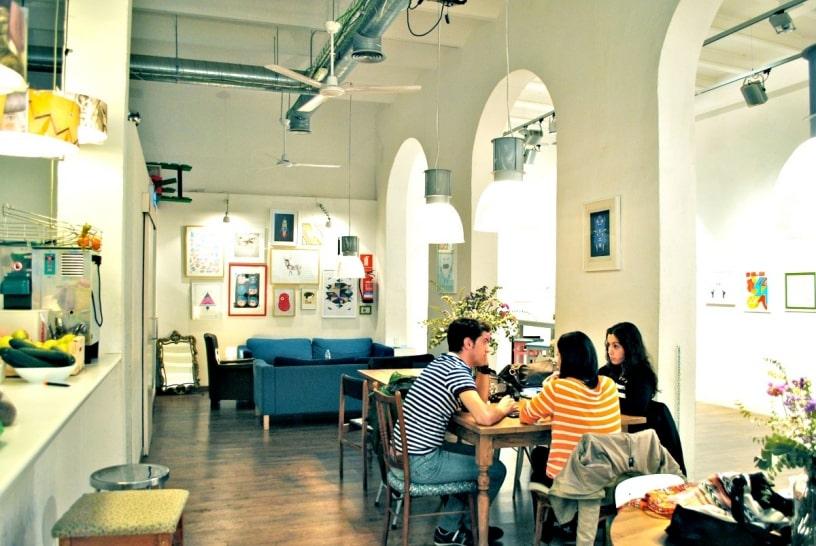 Cafeterías para trabajar o estudiar en Barcelona - bar-y-restaurantes