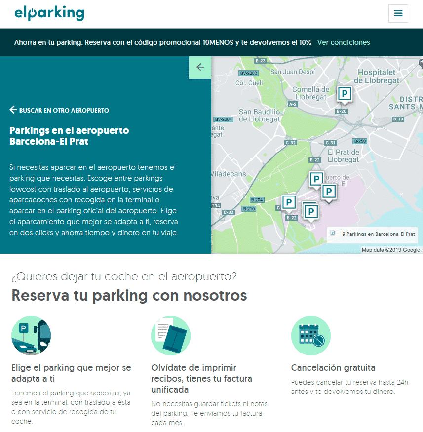 ¿Vas a volar? Mira cómo aparcar barato tu coche en el parking del aeropuerto de Barcelona - novedades