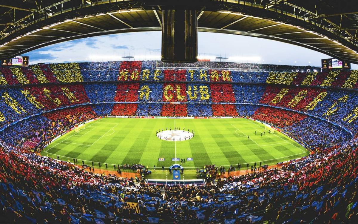 El majestuoso y monumental Camp Nou de Barcelona - novedades
