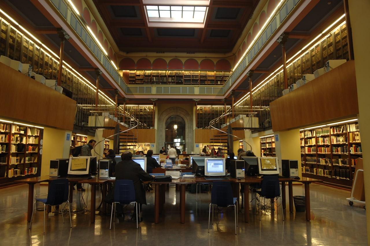 Las 3 mejores bibliotecas públicas de Barcelona - novedades, lugares