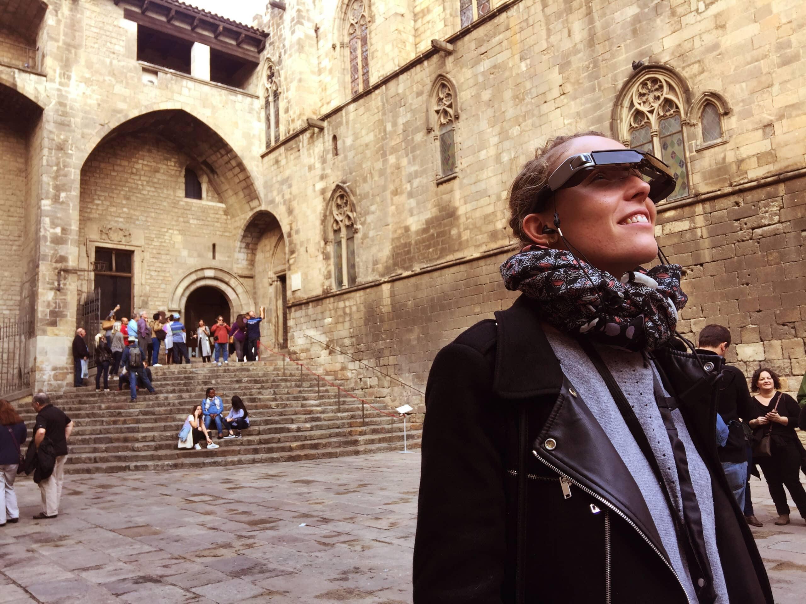 Admira la Barcelona del pasado con este tour con gafas inteligentes - novedades, lugares