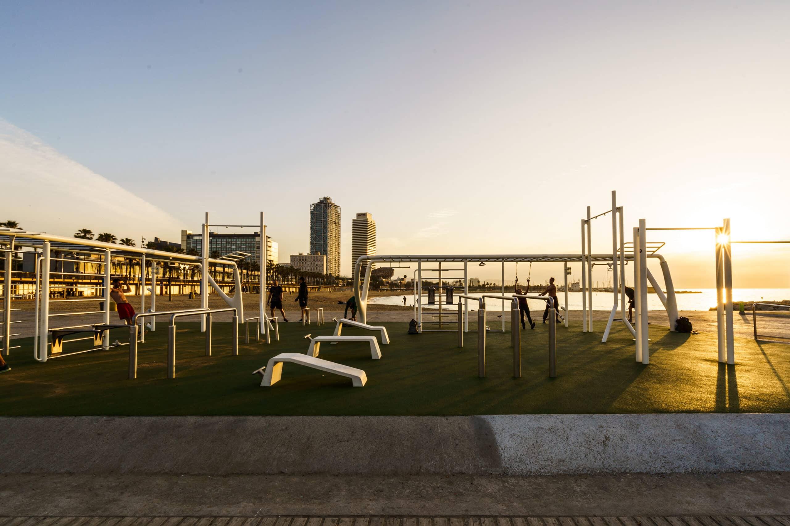 El gimnasio gratuito al aire libre de Nike - novedades, lugares