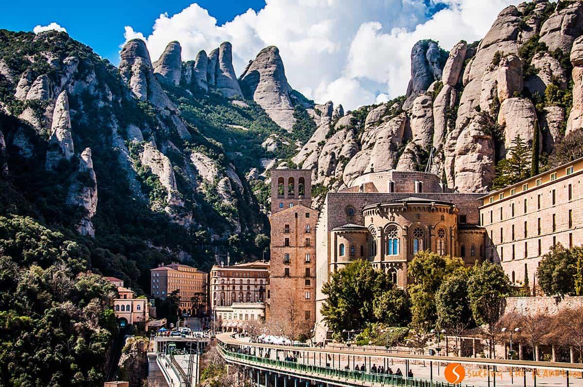 Ven a conocer el Montserrat y su monasterio - lugares