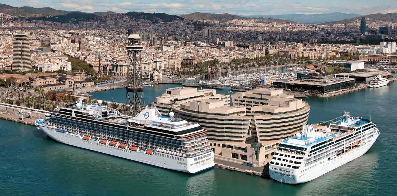 Barcelona se posiciona como la ciudad europea con mayor contaminación causada por los cruceros - novedades, destacado