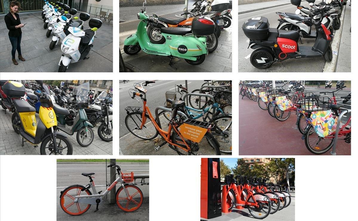 """Motos y bicis de """"sharing"""": Barcelona prepara 10.000 licencias - novedades, destacado"""