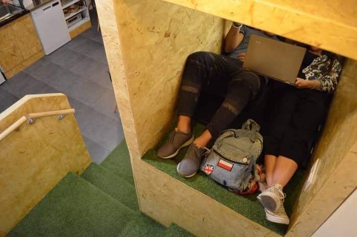 Nappuccino, un café donde puedes tomar una siesta - lugares