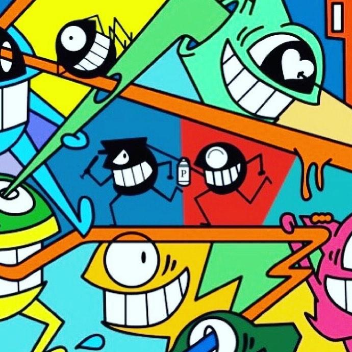App de realidad aumentada anima graffitis de Barcelona - novedades
